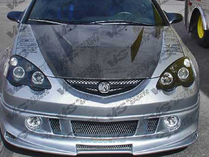 Acura Rsx Invader Type Carbon Fiber Hood - Acura rsx carbon fiber hood