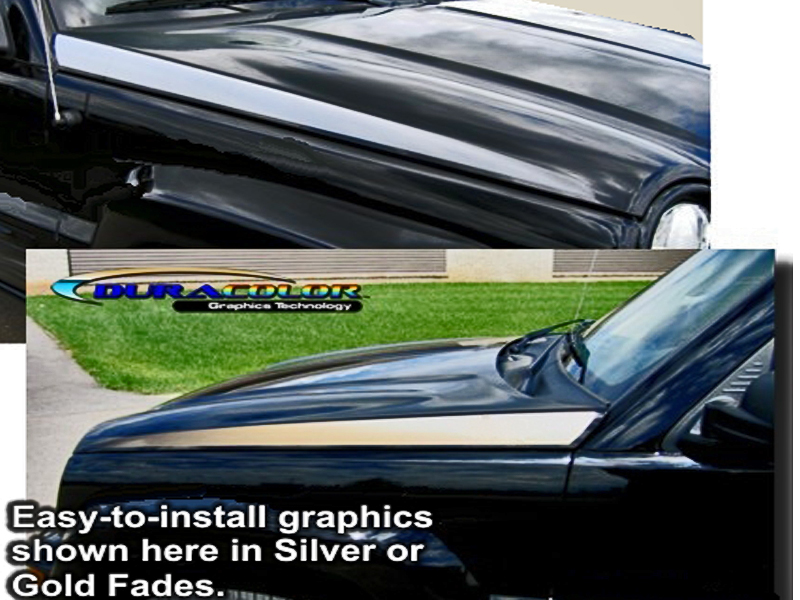 2002 Current Jeep Liberty Hood Graphic Kit 1 For Jeep Liberty Atd