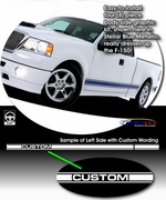 2004  -  Current F150 Body Side Graphic Kit 2