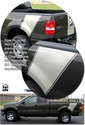 2004-Current F150 Rear Bed Side Sport Graphic Kit 1 - Styleside Bed for Ford F-150
