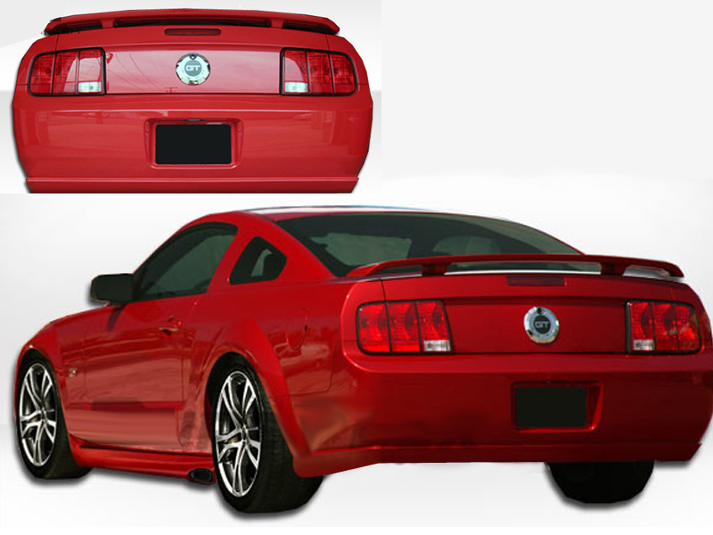 2005 2009 ford mustang eleanor rear bumper. Black Bedroom Furniture Sets. Home Design Ideas
