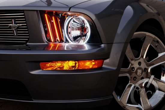 2005 2009 Ford Mustang Oracle Halos Kit