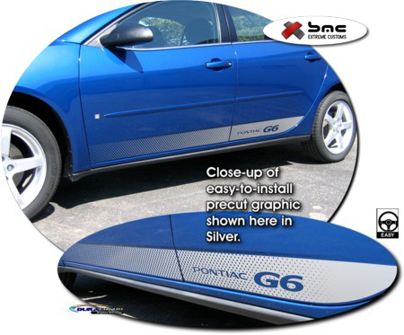 2005 2009 Pontiac G6 Body Side Graphic 1 Sedan Coupe