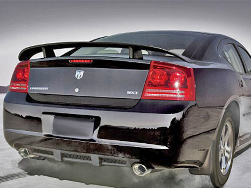 2005 2010 dodge charger carbon fiber oem spoiler. Black Bedroom Furniture Sets. Home Design Ideas