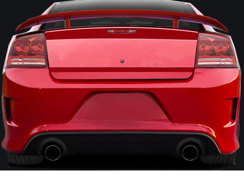 2006 2010 Dodge Charger Hellcat Look Rear Bumper 113292