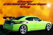 2005-2010 Dodge Charger GTC300 61� Rear Spec Wing / Spoiler