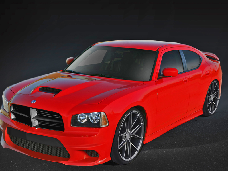 2005 2010 Dodge Charger Hellcat Style Body Kit 113293