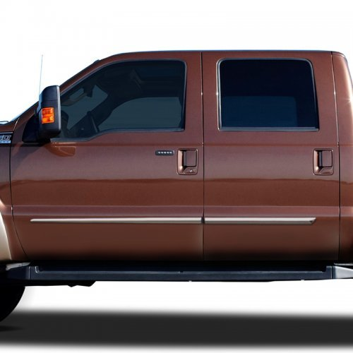 2005-2012 Ford F-250 F-350 Chome Plated Body Side Moldings