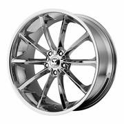 "2005-2012 Ford Mustang Lorenzo 20"" Chrome Wheels Set of 4"