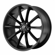 "2005-2012 Ford Mustang Lorenzo 20"" Satin Black Wheels Set of 4"