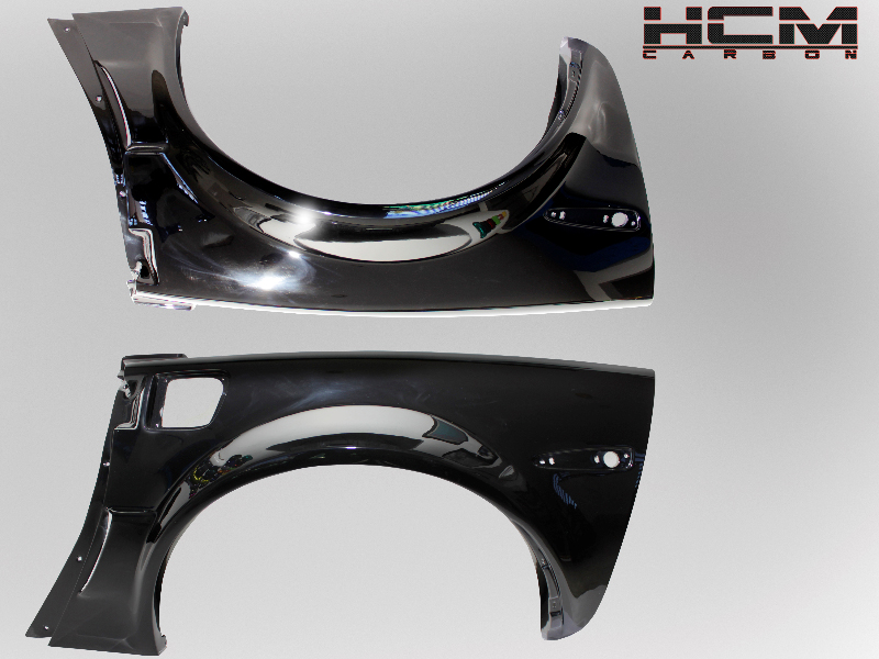 2005 - 2013 / C6 Corvette 2005 – 2013 Fiber Glass Widebody 1/4 Panels