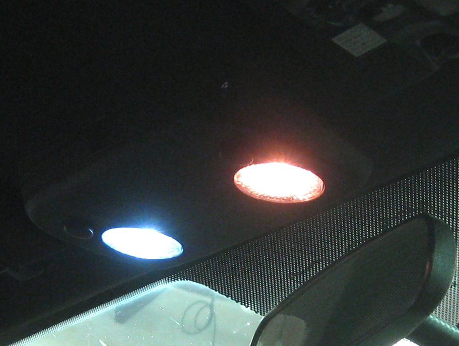2005 2014 ford mustang overhead interior led bulbs - 2013 mustang interior accessories ...