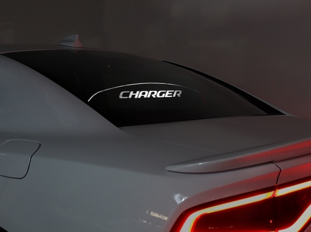 "2005-2018 Charger Glow Plate ""CHARGER"" Display"