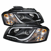 2006-2008 Audi A3 Projector Headlights - Halogen Model Only