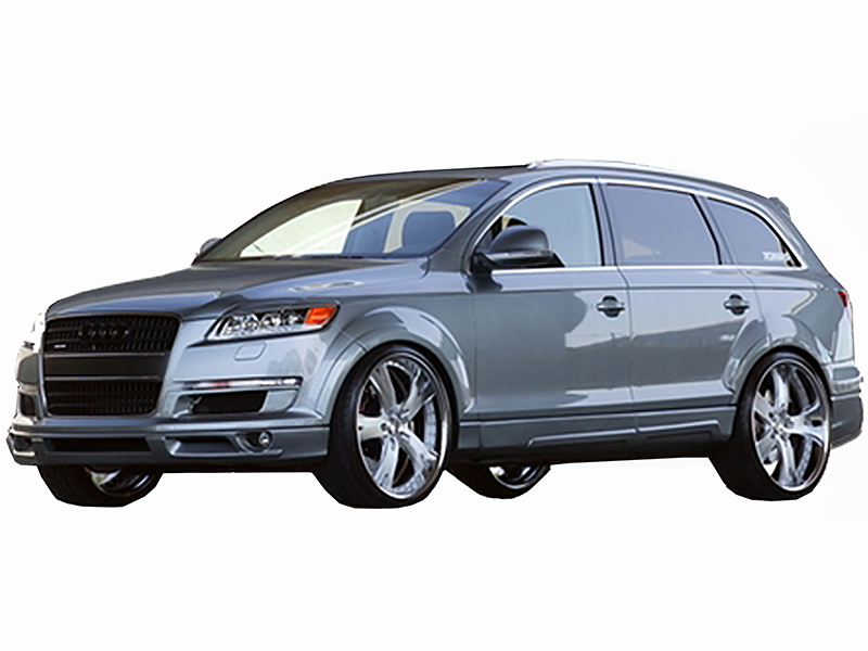 2006 2009 audi q7 ct r complete body kit 22 piece. Black Bedroom Furniture Sets. Home Design Ideas