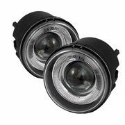 2006-2010 Dodge Charger Clear Halo Projector Fog Lights