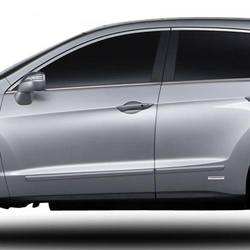 2007-2018 Acura RDX Painted Body Side Moldings