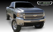 2007-2010 Chevy Silverado HD (2500HD, 3500) - Billet Grille Overlay / Bolt On & Insert