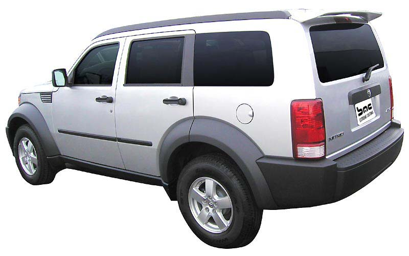 2007 2010 dodge nitro painted factory style spoiler. Black Bedroom Furniture Sets. Home Design Ideas