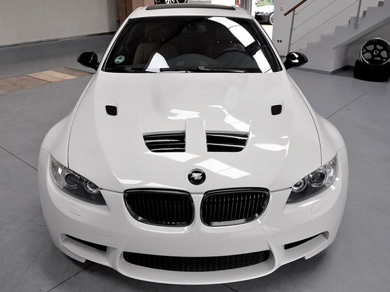 2007 2013 BMW 3 Series Coupe Convertible Vented Hood
