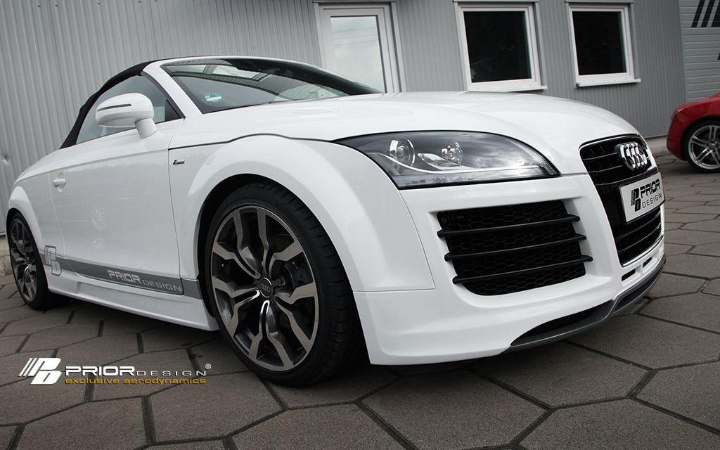 2007 2012 audi tt prior design 8j aero kit. Black Bedroom Furniture Sets. Home Design Ideas