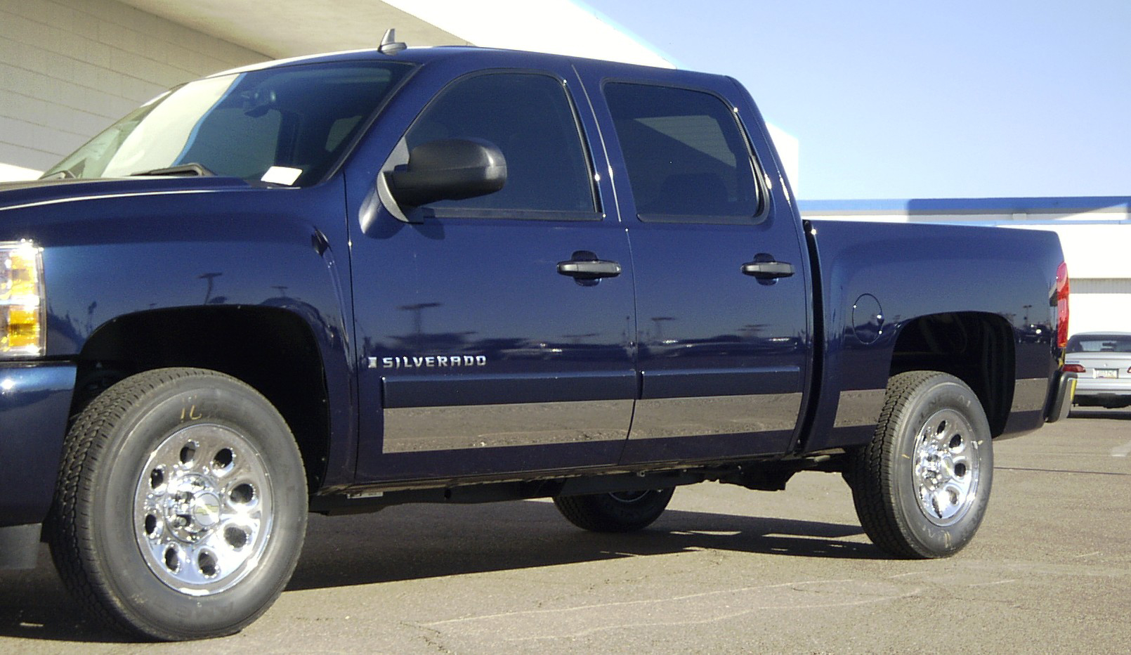 2007 2013 chevrolet silverado 5 5 stainless rocker panels 10pc