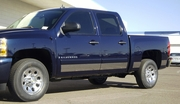 "2007-2013 Chevrolet Silverado Dually 5.5"" Stainless Rocker Panels 6pc"
