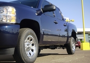 "2007-2013 Chevrolet Silverado Dually 7.5"" Stainless Rocker Panels 6pc"