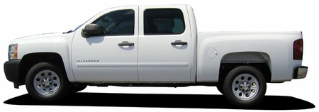 2007-2013 Chevrolet Tahoe Painted Body Side Moldings