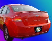 2008-2010 Ford Focus OE Style Rear Spoiler, Painted