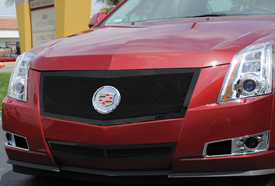 2008 2012 Cadillac CTS Upper Class Mesh Grille