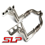 2008-2013 Challenger SRT 6.1L, 6.4L Coated Long-Tube Headers with High-Flow Cats