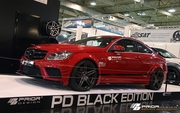 2008-2013 Mercedes C63 W204 C-Class Coupe Black Edition Widebody Kit