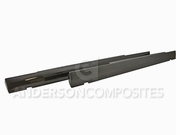2008-2014 Dodge Challenger Side Rocker panels Carbon Fiber