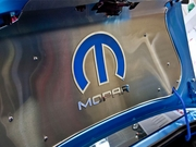 "2008-2019 Challenger Blue Omega ""M"" 151035-P with ""MOPAR"" Letters for Trunk/Hood Panels"