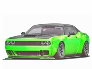 2008-2020 Dodge Challenger Circuit Kit Duraflex