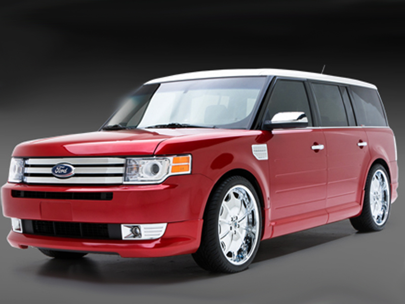 2009 2010 ford flex complete body styling kit. Black Bedroom Furniture Sets. Home Design Ideas