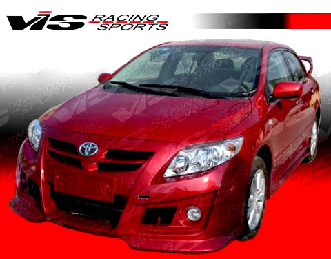 2009 2010 toyota corolla sedan ams full body kit. Black Bedroom Furniture Sets. Home Design Ideas