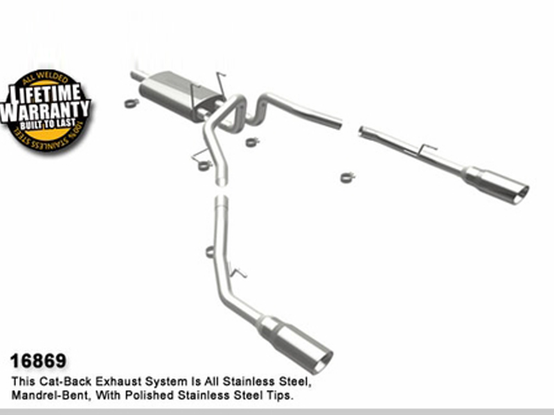 20092016 Magnaflow Dodge Ram 1500 Truck Stainless Catback System Performance Exhaust: 2012 Dodge Ram 1500 Exhaust System At Woreks.co