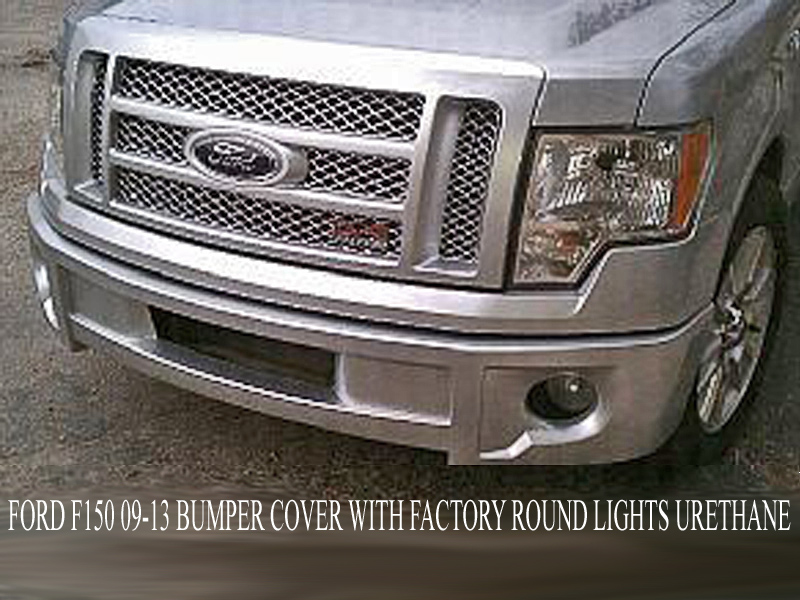 2009 2014 Ford F150 Bumper Cover Factory Round Lights