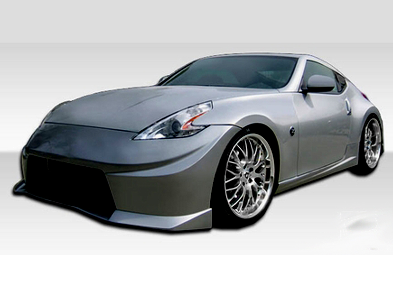 2009 2018 nissan 370z duraflex n 2 body kit. Black Bedroom Furniture Sets. Home Design Ideas