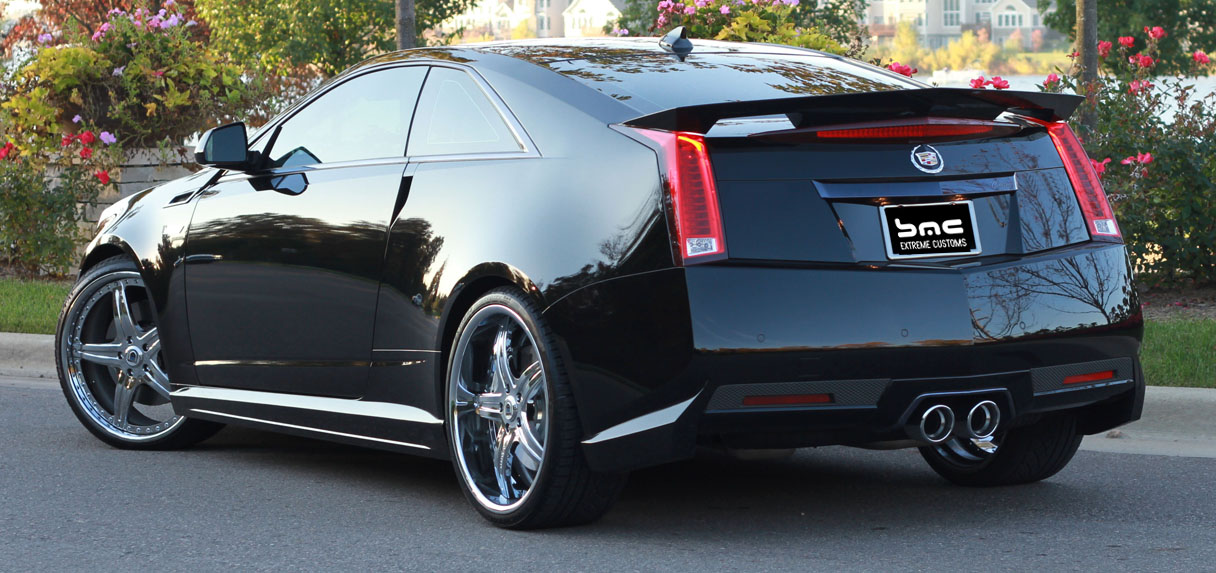2009 2014 Cadillac Cts V Coupe Complete Body Kit Ground
