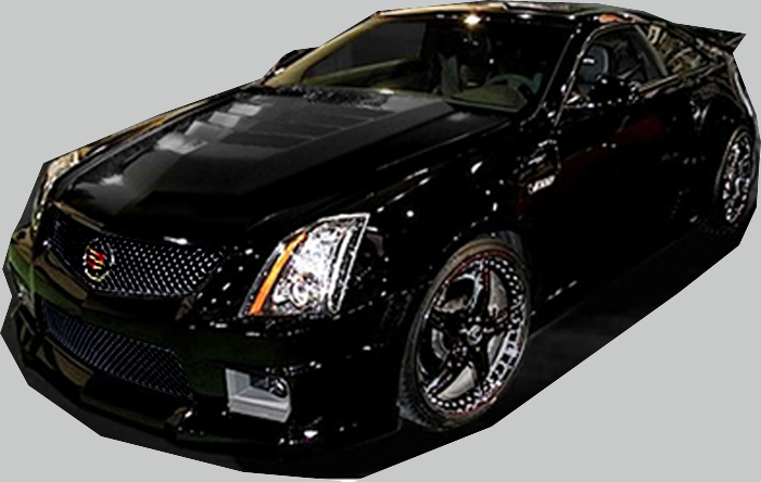 2009 2014 cadillac cts v coupe complete body kit ground effects. Black Bedroom Furniture Sets. Home Design Ideas