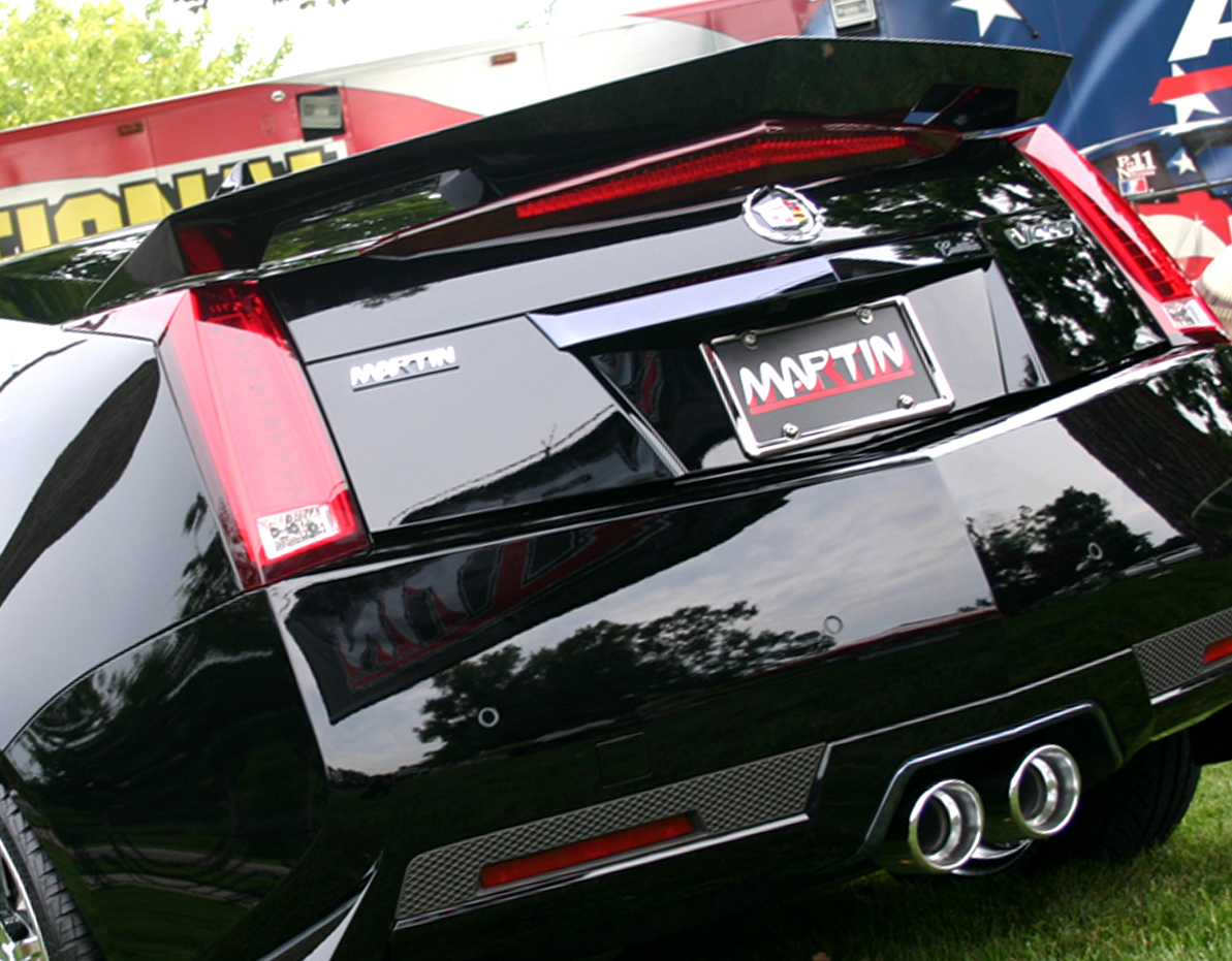 2011 2014 cadillac cts v coupe rear spoiler trunk wing. Black Bedroom Furniture Sets. Home Design Ideas