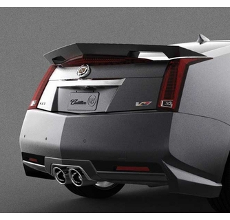 2009 2014 cadillac cts v coupe rear spoiler. Black Bedroom Furniture Sets. Home Design Ideas