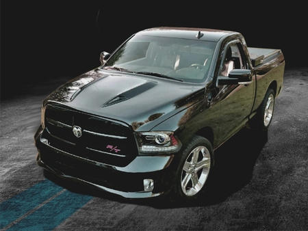 2009-2018 Dodge Ram 1500 Road Runner Ram Air Hood BMC Restyling