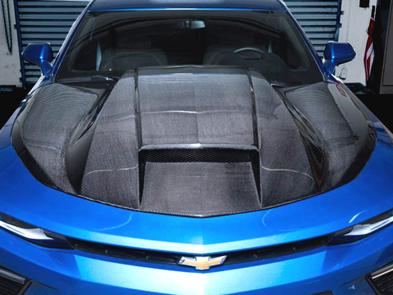 Camaro Copo Style Double Sided Replacement Hood 2016 2018 Ac