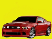 2010-2012 Ford Mustang GT V6 Hot Wheels Complete Body Kit