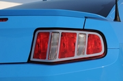 2010-2012 Ford Mustang Polished SS T1 Series Tail Light Trim