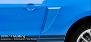 2010-2012 Ford Mustang Side Quarter Panel Scoops